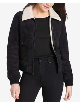 Sherpa Trim Bomber Jacket by Levi's