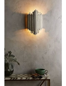 Gathered Glow Sconce by Anthropologie