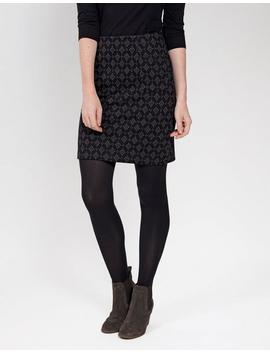Jennie Jacquard Skirt by Fat Face