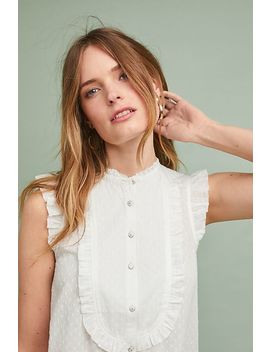 Soneva Ruffled Blouse by Anthropologie