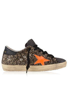 Glitter Superstar Trainers by Golden Goose Deluxe Brand
