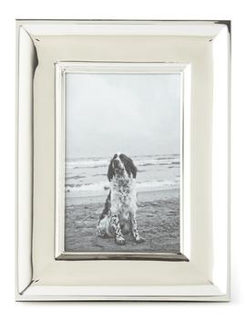 """Cove Silver 4"""" X 6"""" Picture Frame by Ralph Lauren Home"""