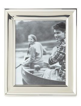 """Cove Silver 8"""" X 10"""" Picture Frame by Ralph Lauren Home"""
