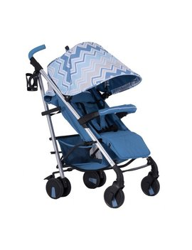 My Babiie Sam Faiers Mb51 Stroller   Blue Chevron by Argos