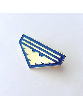 Mass Effect Garrus / Archangel Logo Enamel Pin by Etsy