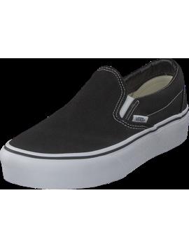 Ua Classic Slip On Platform Black by Vans