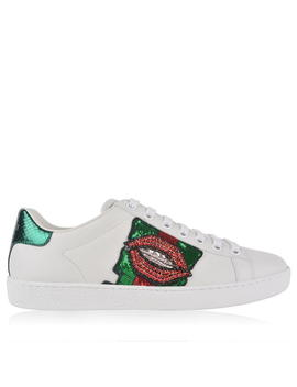 New Ace Embroidered Trainers by Gucci