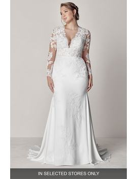 Eva Lace Mermaid Gown by Pronovias