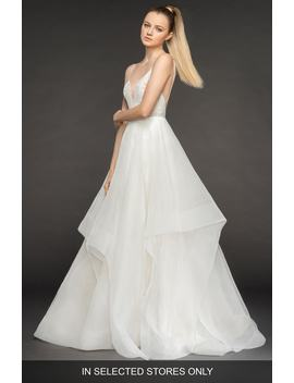 Perri Tiered Organza Ballgown by Blush By Hayley Paige