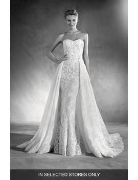 Edith Strapless Lace Gown by Atelier Pronovias