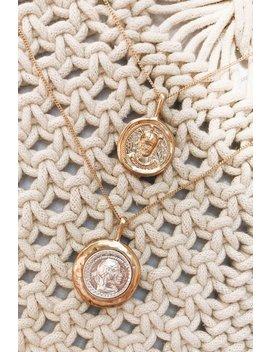 Core Aesthetic Coin Necklace Set by Vergegirl
