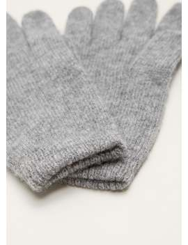 100 Percents Cashmere Gloves by Mango