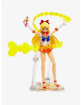 S.H. Figurearts Sailor Moon Sailor Venus Action Figure by Hot Topic