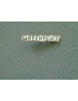 Scarce Older Greenpeace Green Enamel Pin Badge by Ebay Seller
