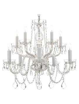 Willa Arlo Interiors Amandine 10 Light Led Candle Style Chandelier & Reviews by Willa Arlo Interiors