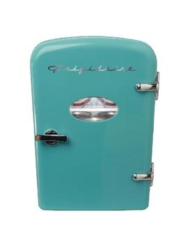 6 Can Mini Retro Refrigerator In Blue by Frigidaire