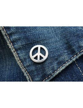 Peace Sign Lapel Pin   Cc370  Peace, Hippie, Symbol Of Peace by Etsy
