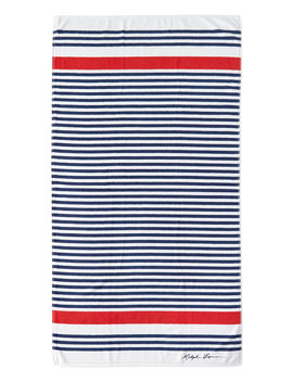 Healy Stripe Beach Towel by Ralph Lauren Home