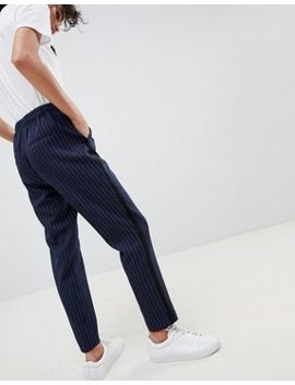 Asos Design   Pantalon De Jogging Fuselé à Fines Rayures by Asos Design