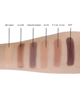 Cocosh She Brand Makeup 6 Color Nude Eye Shadow Matte Eyeshadow Palette Natural Waterproof Long Lasting by Cocosh She