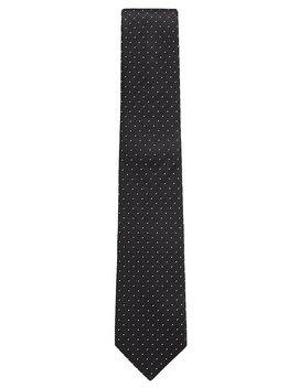 Gepunktete Krawatte Aus Seiden Jacquard  by Boss
