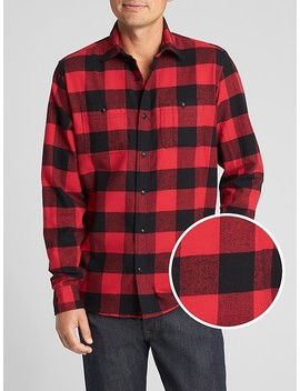 Two Pocket Flannel Shirt by Gap