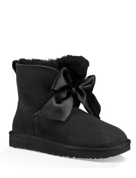 Ugg® Gita Bow Mini Booties by Ugg