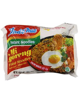 Indomie Fried Noodles 100 Percents Halal Mi Goreng (Pack Of 30) by Indomie