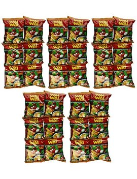 Wai Wai Instant Noodle (Oriental Style)   1.93oz   60g (Pack Of 30) by Wai Wai