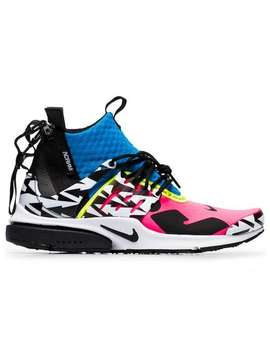 Multicoloured Acronym X Presto Leather Sneakers by Nike