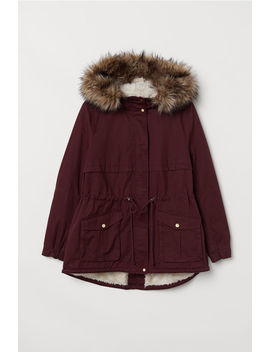 H&M+ Pile Lined Parka by H&M