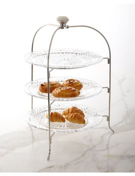 Dublin 3 Tier Serving Stand by Neiman Marcus