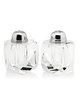 Stockholm Crystal Salt & Pepper Shakers by Neiman Marcus