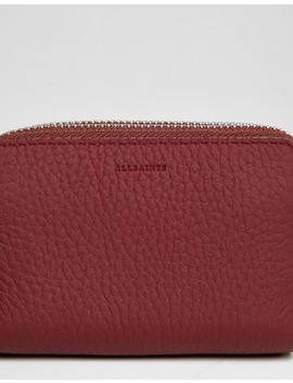 All Saints Fetch Purse In Leather by All Saints