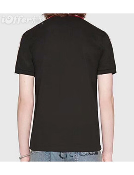 Brand Givenchy Ribbon Polo Buttons Mens T Shirt Tee by I Offer