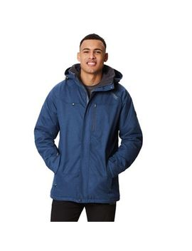 Regatta   Blue 'highside' Insulated Hooded Waterproof Jacket by Regatta
