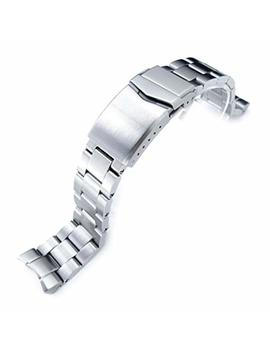 Seiko Replacement By Mi Ltat 20mm Super Oyster Watch Bracelet For Seiko Skx013, Brushed 316 L Stainless Steel, V Clasp by Seiko Replacement By Mi Ltat