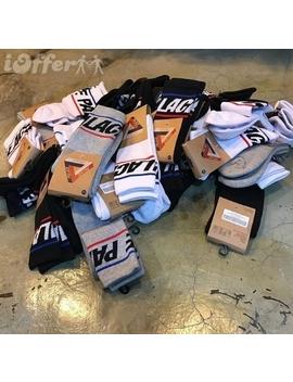 Palace Skateboards Calzini P Sock White Black by I Offer