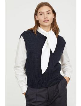 Gerippter Wollpullunder by H&M