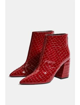 **Wide Fit Houston Ankle Boots by Topshop