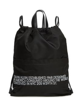 Drawstring Backpack by Calvin Klein 205 W39 Nyc