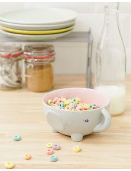 Sass & Belle 3d Elephant Bowl by Sass & Belle