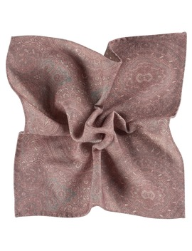 Pink Pocket Square Double Sided by Suitsupply