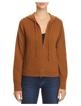Perfect Cashmere Zip Hoodie   100 Percents Exclusive by Theory