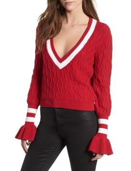 Graduate Bell Sleeve Sweater by The Fifth Label