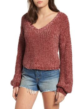 Sweet Skies Chenille Sweater by Somedays Lovin