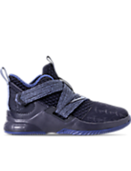 Boys' Preschool Nike Le Bron Soldier 12 Basketball Shoes by Nike