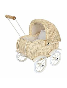 Dolls Pram Wickerwork by Tradinghouse Legler