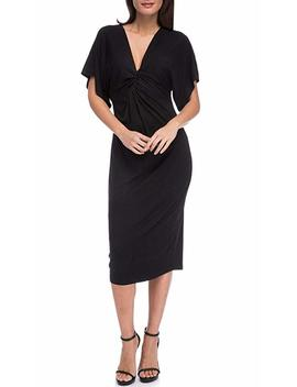 Bobeau Aubri Twist Knit Dress by Bobeau