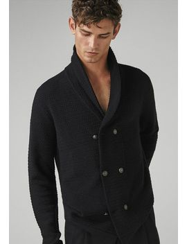 Mit Strukturmuster Limited Edition    Strickjacke by Massimo Dutti